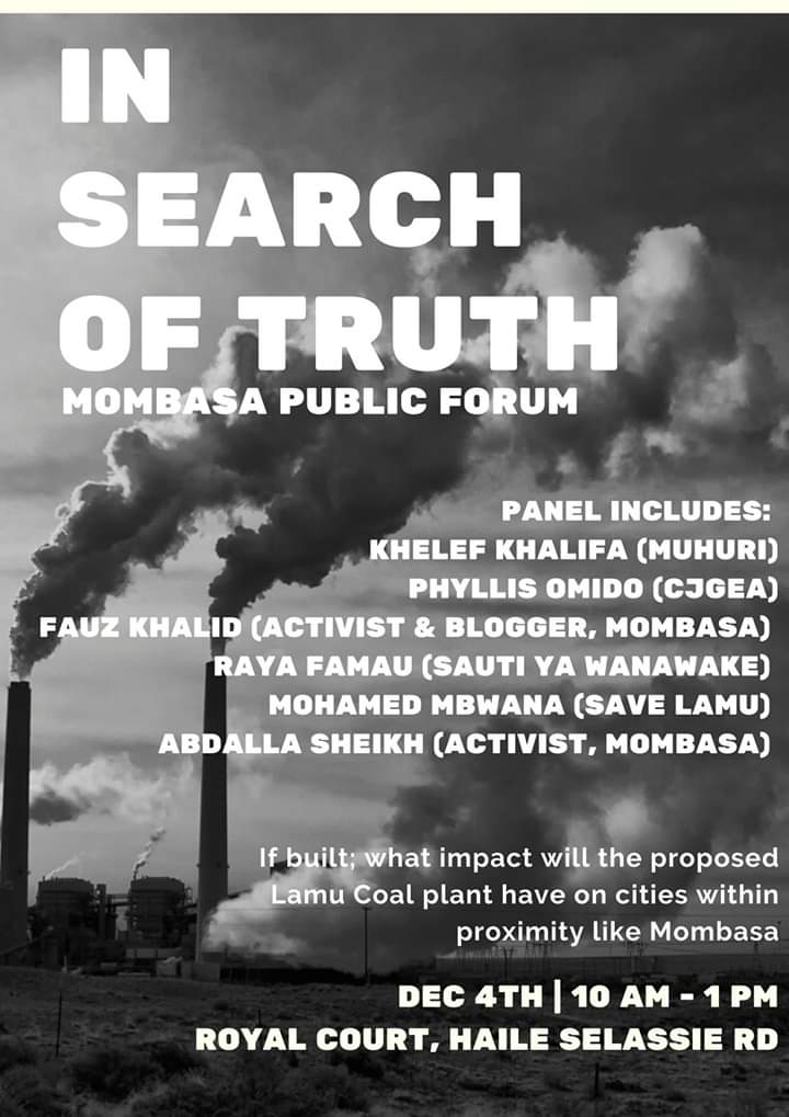 In Search of Truth – Mombasa Public Forum